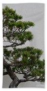 White Pine Bonsai Beach Towel