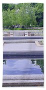 White River Gardens Beach Towel