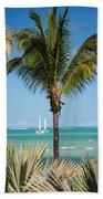 White Sails. Mauritius Beach Towel