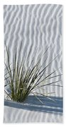 White Sands Grasses Beach Towel