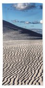 White Sands Patterns Beach Towel