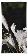 White Seed Beach Towel