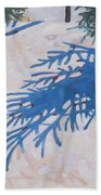 White Spruce Beach Towel
