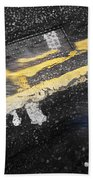 White Stripes Beach Towel