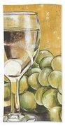 White Wine And Cheese Beach Sheet