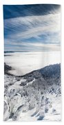 Whitefish Inversion Beach Towel