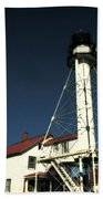 Whitefish Point Light Station Beach Towel