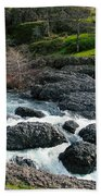 Whitewater At Bear Hole Beach Towel