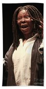 Whoopi Goldberg Beach Towel