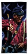 Wi Colored Infantry Sharpshooter - Oil Beach Towel