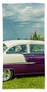 Wicked 1955 Chevy Profile Beach Towel