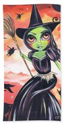 Wicked Witch Of The West Beach Towel