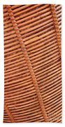 Wicker #2 Beach Towel