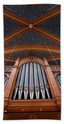 Wiesbaden Marktkirche Organ Beach Towel