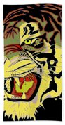 Wild At Heart Shere Khan Beach Towel