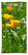 Poppies 3 - Wild At Heart Beach Towel