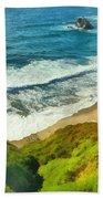 Wild Beach Beach Towel