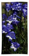 Wild Blue Bells Beach Towel