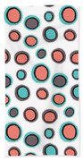 Wild Bounce Beach Towel by Susan Claire