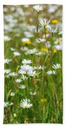 Wild Flower Meadow Beach Towel