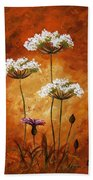 Wild Flowers 041 Beach Towel