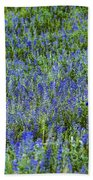 Wild Flowers Blanket Beach Towel