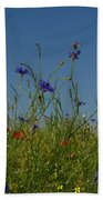 Wild Flowers Beach Towel