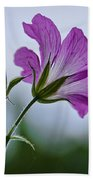 Wild Geraniums Beach Towel