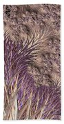 Wild Grasses Blowing In The Breeze  Beach Towel