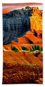 Wild Horse Butte Utah Beach Towel