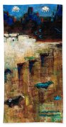 Wild Horse Canyon Beach Towel