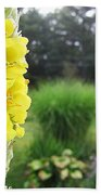 Wild Mullein Beach Towel