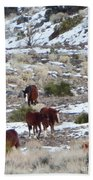 Wild Nevada Mustangs 2 Beach Towel