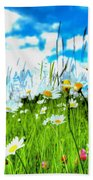 Wild Ones - Daisy Meadow Beach Towel