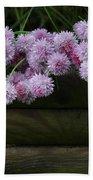 Wild Onion Flowers Beach Towel