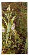 Wild Orchids Beach Towel