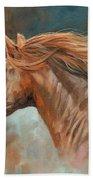 Wild Stallion Beach Towel