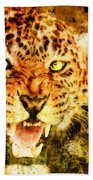 Wild Threat Beach Towel
