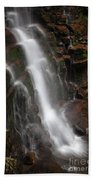 Wilderness Waterfall Dawn Beach Towel