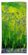 Wildflower Impression By Jrr Beach Towel