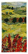 Wildflower Jungle Beach Towel