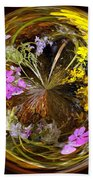 Wildflower Paperweight Beach Towel