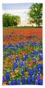 Wildflower Tapestry Beach Towel