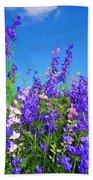 Wildflowers #11 Beach Towel
