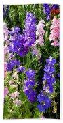 Wildflowers #15 Beach Towel