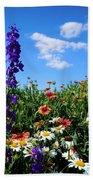 Wildflowers #7 Beach Towel