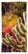 Wildflowers Ignite  Beach Towel