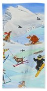 Wildlife Freestyle Beach Towel