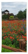 Wildseed Farms Beach Towel