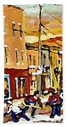 Wilenskys Hockey Paintings Montreal Commissions Originals Prints Contact Artist Carole Spandau  Beach Towel